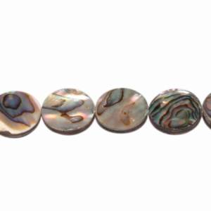 Abalone, Disk, flach, D12 H3mm