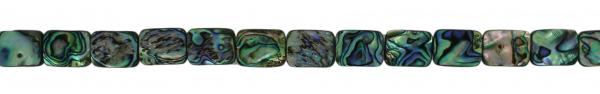Abalone, rechteckig, flach, L16 B12 H3mm