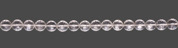Bergkristall Kugel facettiert D20mm