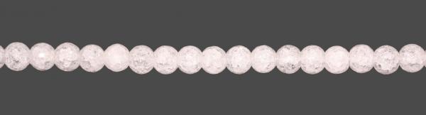 Bergkristall Kugel gecrasht & facettiert D12mm