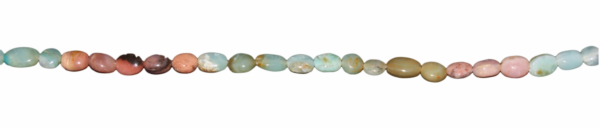 Blauer Andenopal, oval ca.
