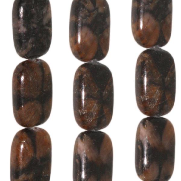 Chiastolith, rechteckig  L18 B13 H6mm