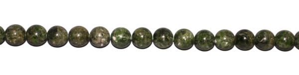 Chromdiopsid, Kugel, D12mm, Strang 40cm