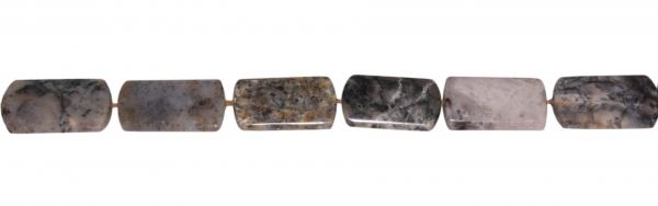 Dendriten-Achat, flache Formen ca. L33 B19 H6mm