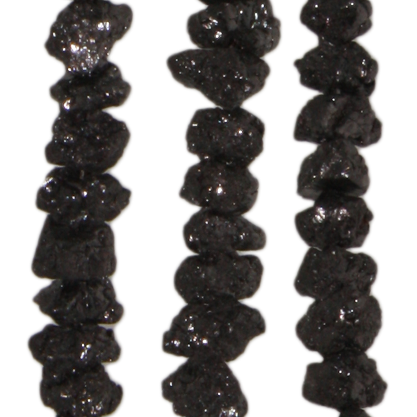 Diamant, Rohdiamant, D4,7mm, Strang 40cm