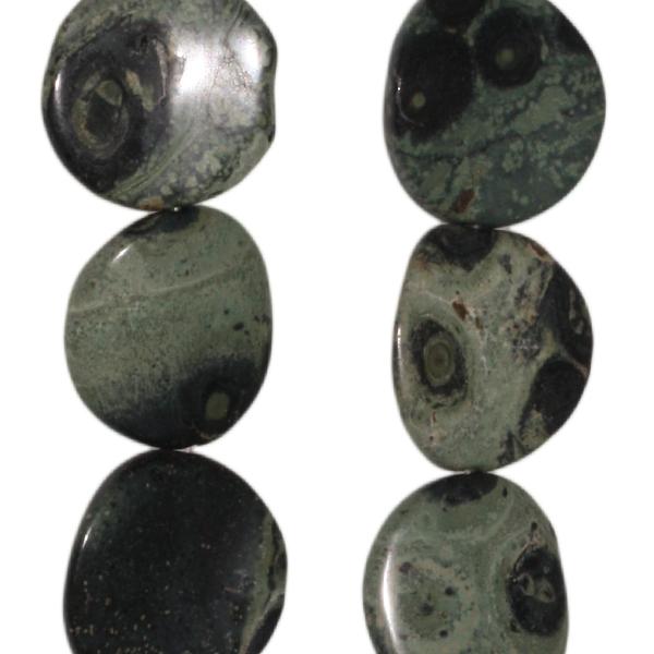 Elderit (Kambaba Jaspis), Disk, D26 H5mm