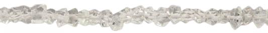 Herkimer Diamant, verlaufend, D4-6,7mm, Strang 40cm