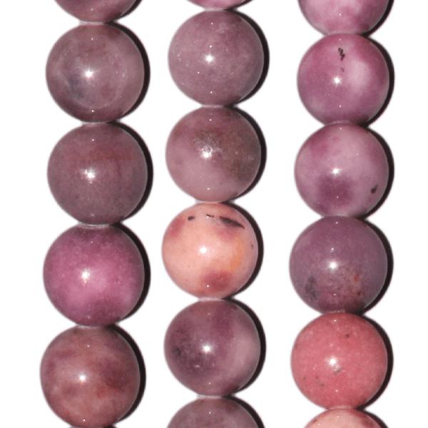 Lavendeljade, Kugel, D12mm, Strang 40cm
