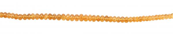 Mandarin Granat, fazettiert, D3mm, Strang 40cm
