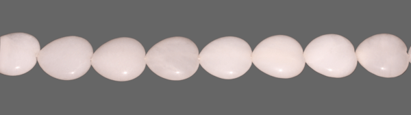 Milchquarz, Herzform ca. D30mm