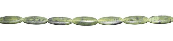 Nephrit, oval ca. L28 B10 H5mm
