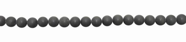 Onyx, matt, Kugel, D12mm, Strang 40cm