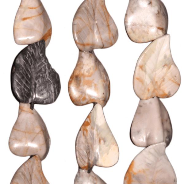 Picasso Jaspis, divers formen ca. D23mm