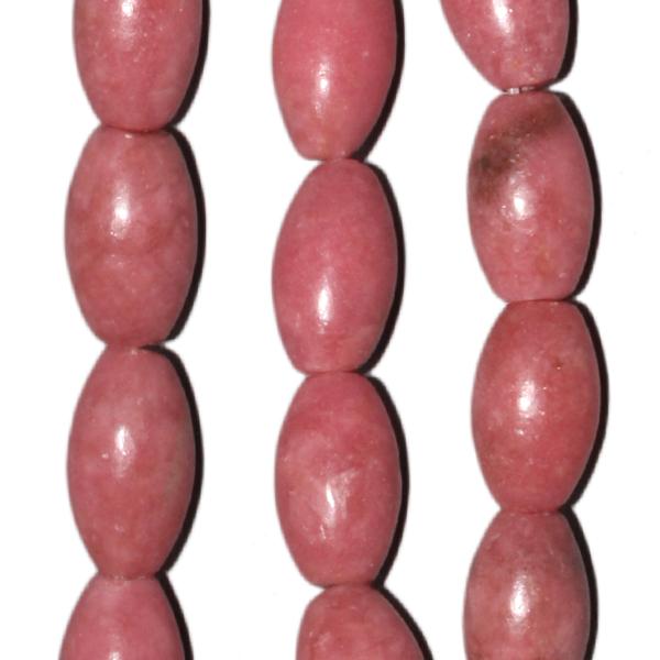 Rhodonit, Oliven, L13 D8mm