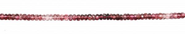 Rubilith (Roter Turmalin), Scheibchen facettiert ca. D5mm