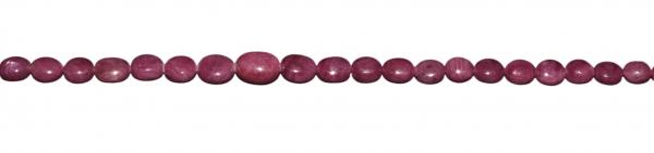 Rubin, Nuggets verlaufend ca. L8-5mm