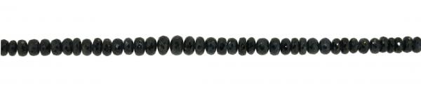 Safir, facettiert Scheibchen, verlaufend ca. D6-8mm