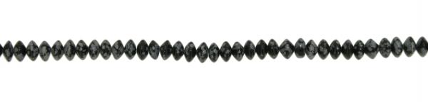 Schneeflocken Obsidian, Scheibchen ca. D8mm