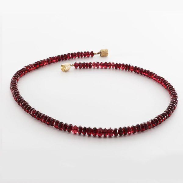 Granat Halskette