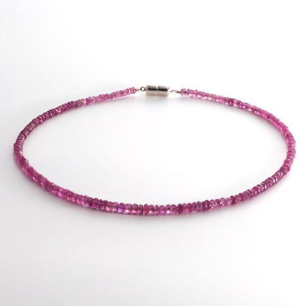 Pink Saphir Halskette