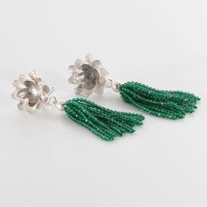 """Ohrgehänge Smaragd – """"Primrose"""""""