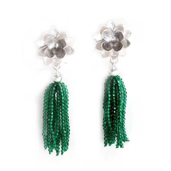 Smaragd Ohrgehänge