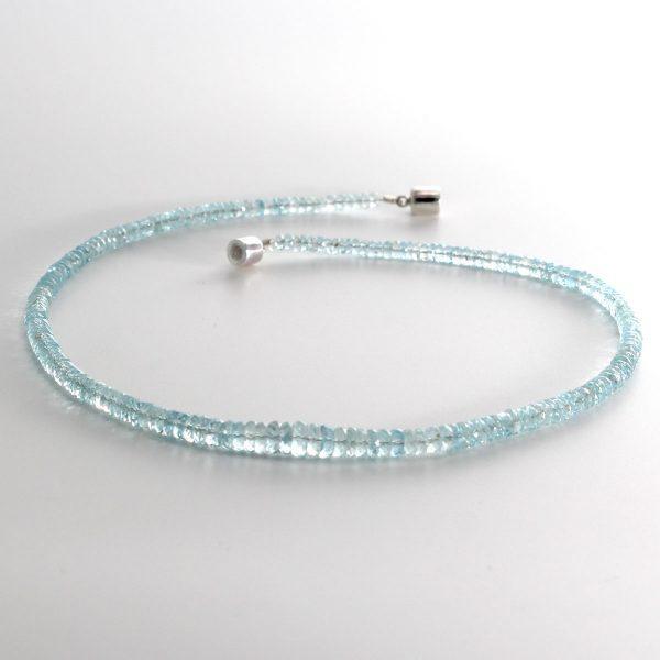 Halskette Aquamarin