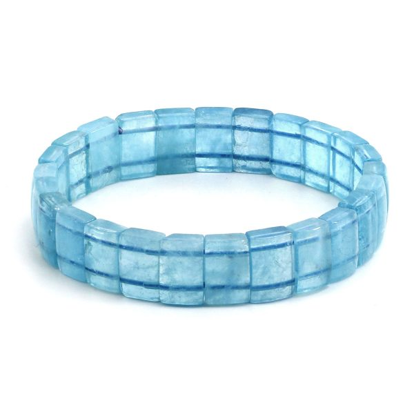 Aquamarin Armband