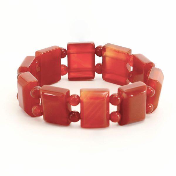 Carneol Armband