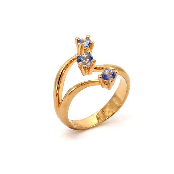3 Saphire Ring