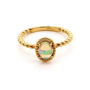 """Ring Opal – """"Twisted"""""""