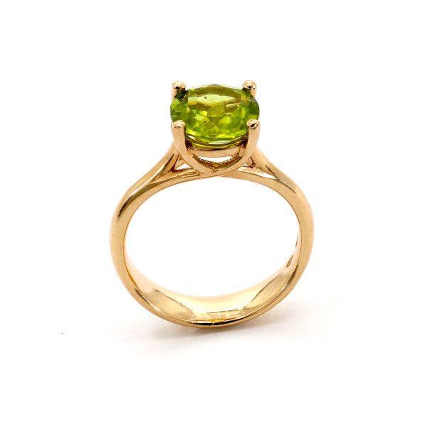 Peridot Olivin Ring