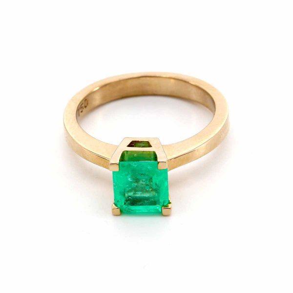 Smaragd Carre Ring