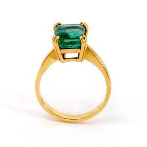 """Ring Smaragd – """"Precious"""""""