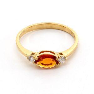 """Ring Topas & Diamant – """"Imperial"""""""