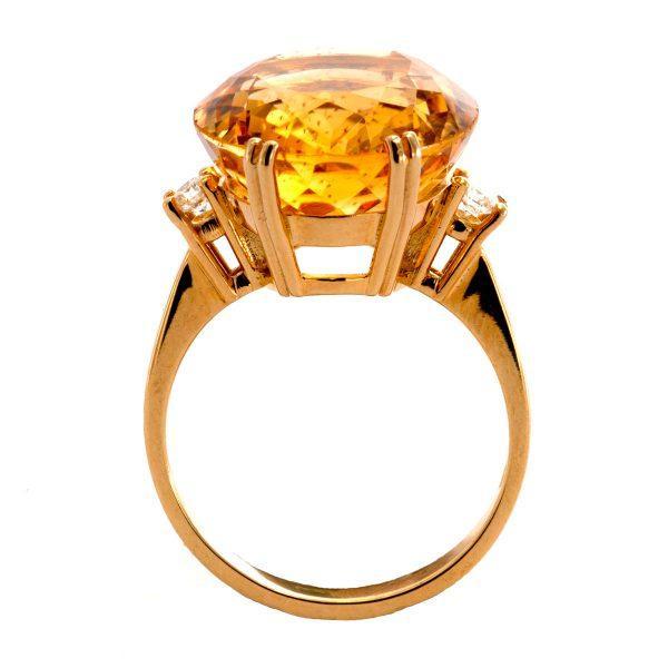 Zitrin Ring