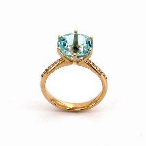 """Goldring Aquamarin & Diamanten – """"Venus"""""""