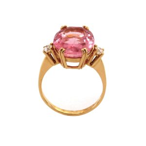 """Ring Rubellith & Diamant – """"Candy"""""""